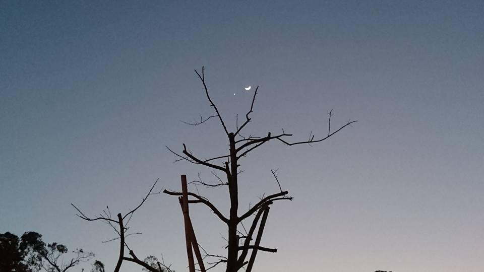 20170102金星合月