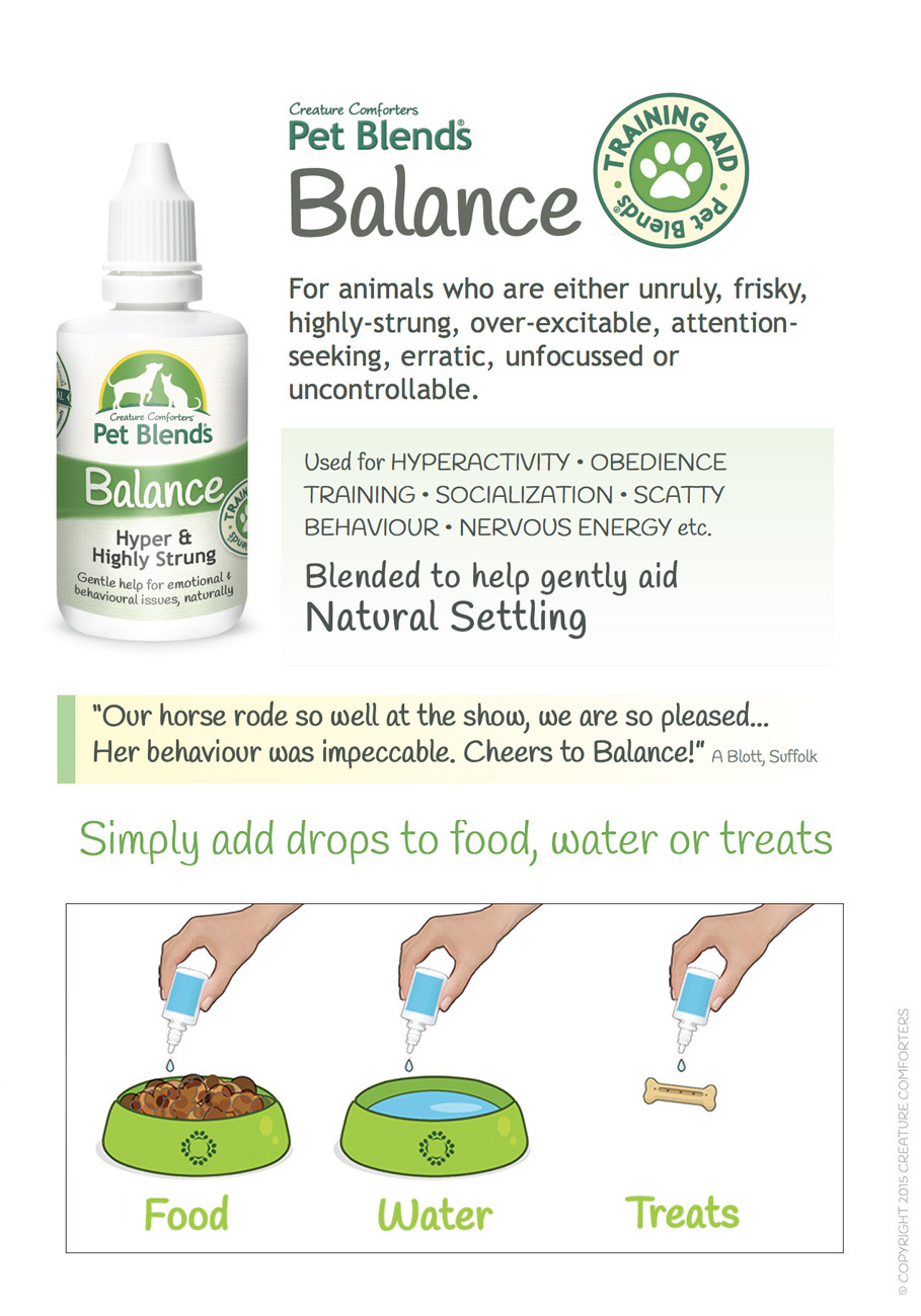 BALANCE BLEND INSTRUCTIONS
