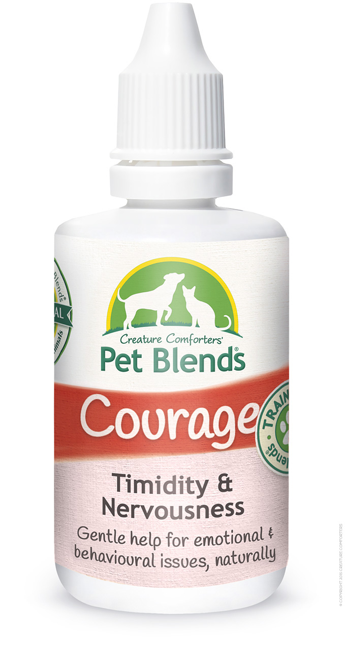 COURAGE BLEND BOTTLE 50ML natural flat SM