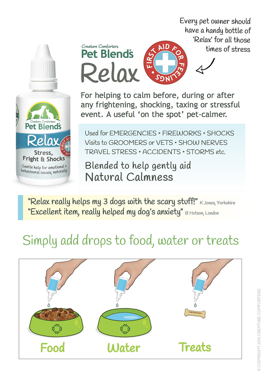 RELAX BLEND INSTRUCTIONS